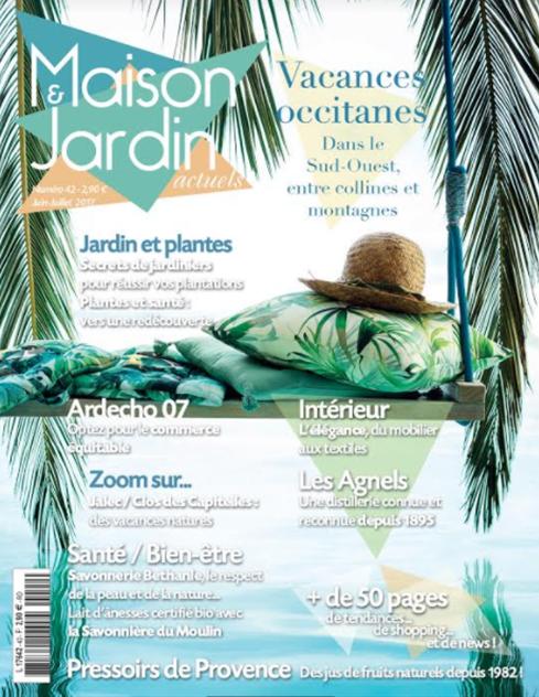 Nouveau tirage pour le magazine maison jardin actuels for Magazine maison jardin