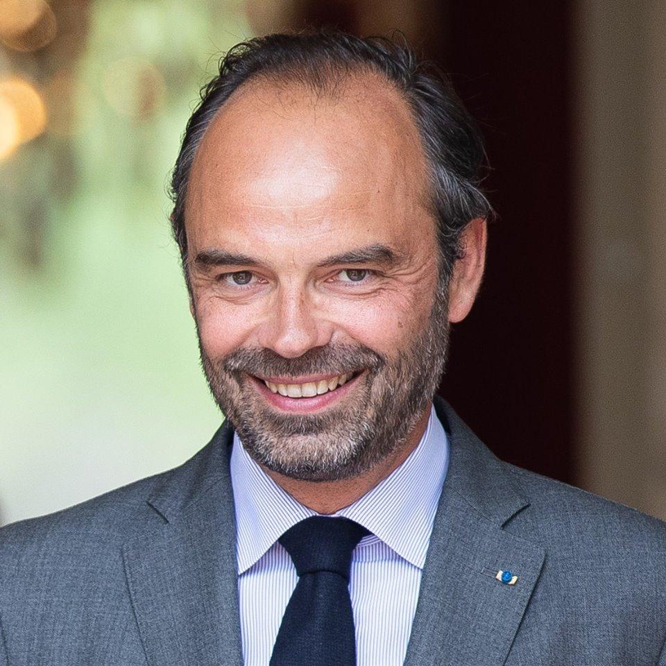 Edouard Philippe en octobre 2018
