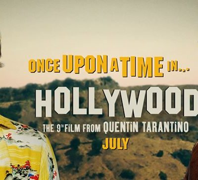 L'affiche officielle de Once Upon a Time in Hollywood