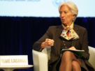 Christine Lagarde lors d'un forum en avril 2019