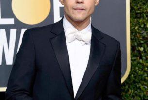 Rami Malek en janvier 2019