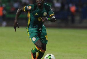 Sadio Mané lors d'un match du Sénégal
