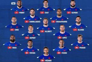 La compo des Bleus contre l'Ecosse samedi à Nice