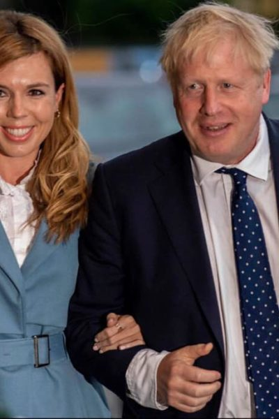 Boris Johnson, le premier ministre britannique arrivant au congrès des Tories le 30 septembre 2019