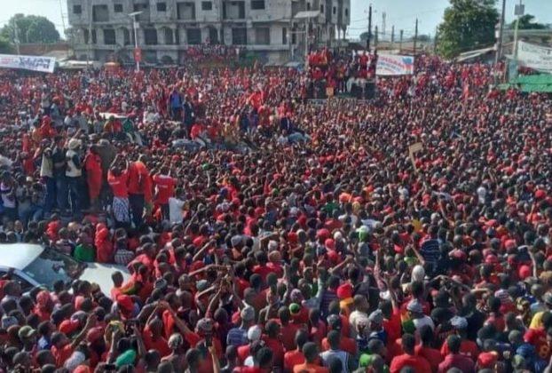 Forte mobilisation de l'opposition guinéenne contre un troisième mandat d'Alpha Condé, le 7 novembre 2019