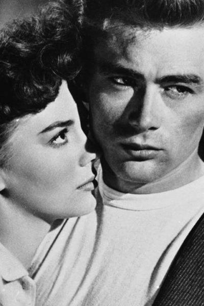 James Dean et Natalie Wood dans la Fureur de vivre (1955)