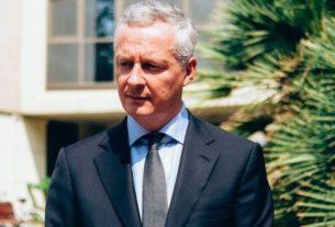 Le ministre français de l'Economie et des Finances, Bruno Le Maire.