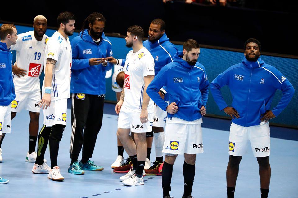 Les Bleus éliminés du championnat d'Europe de Handball 2020 après la défaite contre la Norvège le dimanche 12 janvier 2020.