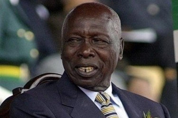 L'ancien président kenyan Arap Moi est mort ce mardi 4 février 2020.