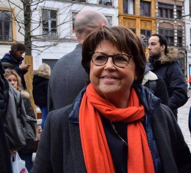 Martin Aubry, maire PS de Lille depuis 2001.
