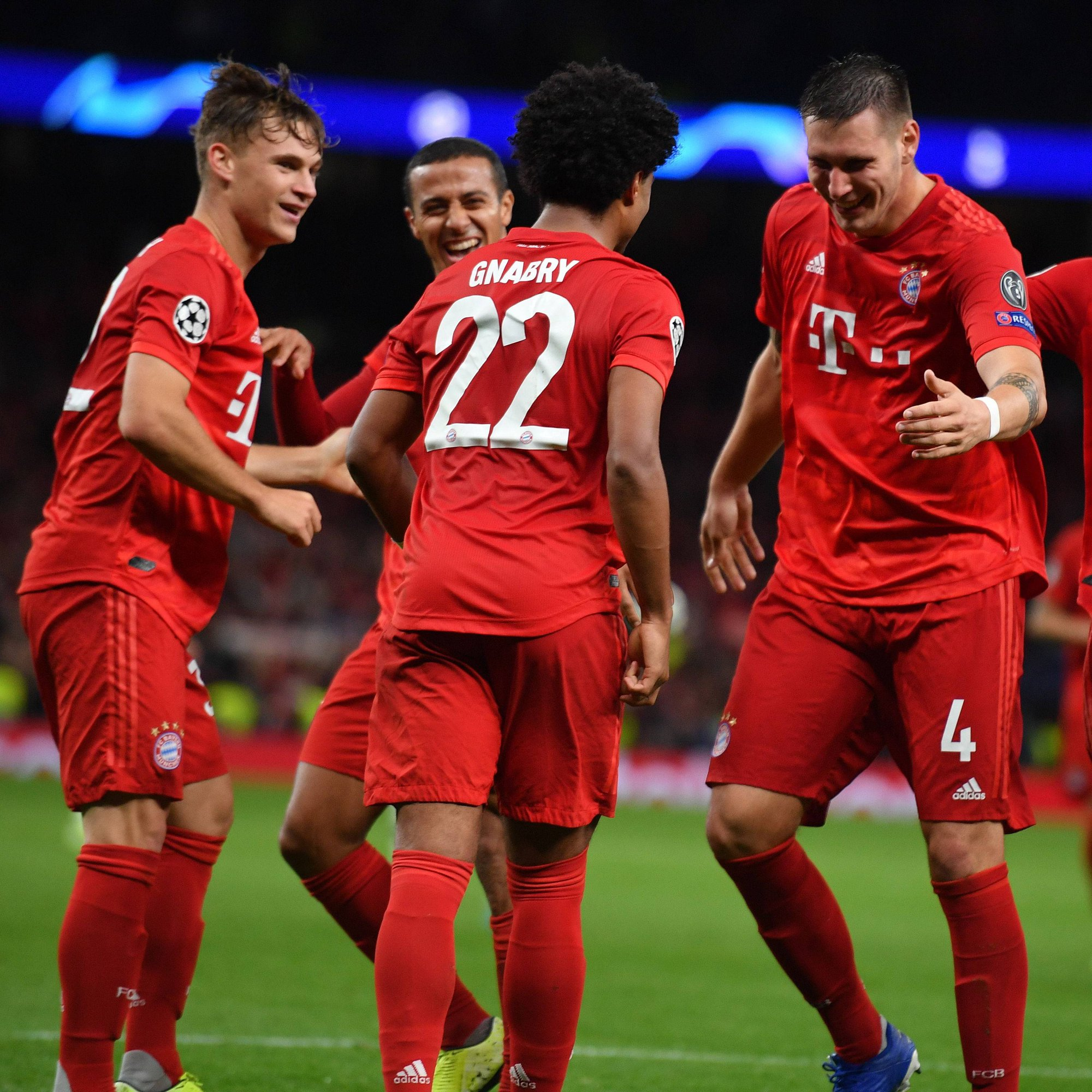 Le Bayern, premier de Bundesliga avec 4 points d'avance sur Dortmund.